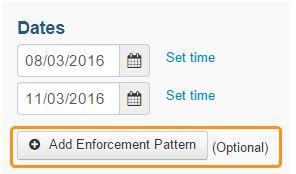 Add enforcement Pattern