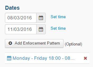 enforcement added